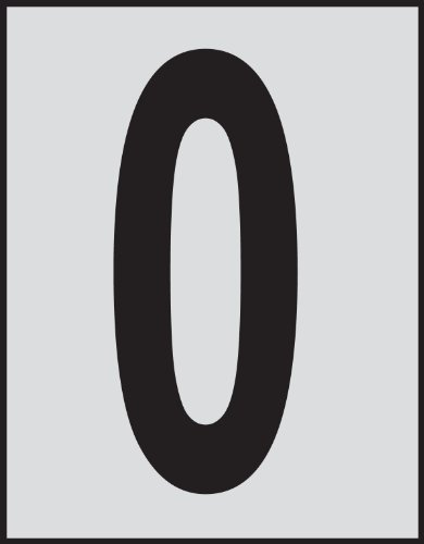 Brady 5900-0,  Bradylite Reflective Numbers & Letters, 1 1/2