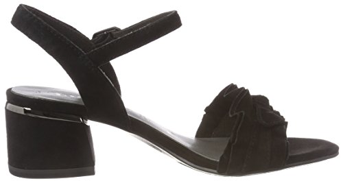 001 black Tamaris Women''s Sandals Black Strap 28028 Ankle Oq70qwaH