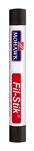 Mohawk Fill Stick (Fil-Stik) Putty Stick for Wood Repair (Gun Metal Grey)- Rub On Semi-Soft Wax Filler Stick