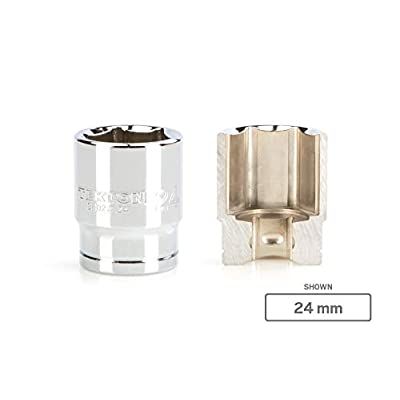 TEKTON 1/2 Inch Drive x 23 mm 6-Point Socket | SHD22123