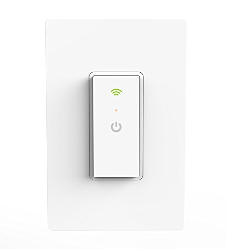 Ankuoo Smart Wifi Light Switch with Remote Control and Timer No No Hub required, Easy and Safe installation, ETL and FCC listed, White