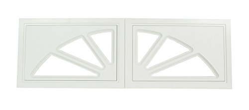 Garage Door Windows 2 Panel Set Design Sunburst