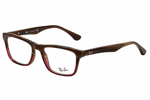 Ray-Ban Vista RX 5279 5541 Eyeglasses Brown Horn Grad Trasp - Ray Ban 5279