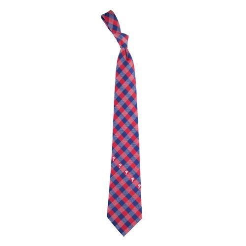 Philadelphia Phillies Check Poly Necktie