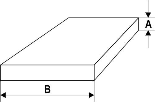 Abstandshalter Verglasungsklotz aus Kunststoff, 100 x x x 5 x 28 mm, (1000 STK) B00872J9A0 | Professionelles Design  4297ff