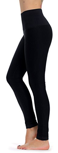 Prolific Health High Compression Women Pants Yoga Fitness Leggings (Small/Medium, Black)