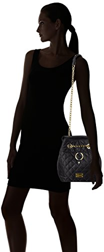 Liu Jo Tulipano Padded Basket - Shoppers y bolsos de hombro Mujer Negro (Black)