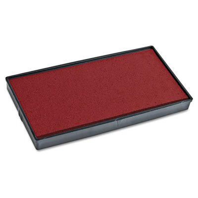 (2000 PLUS Replacement Ink Pad for Printer P50 Red)