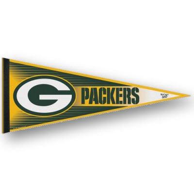 Green Bay Packers Felt Pennant - GREEN BAY PACKERS OFFICIAL LOGO FELT PENNANT