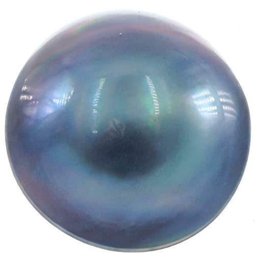 18MM Blue Grey MABE South Pacific Ocean Cultured Loose AAA Jewelry-Grade Pearl YE-2617