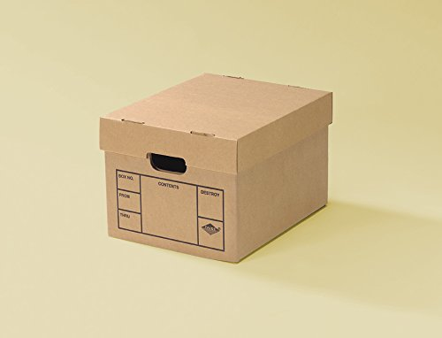 Uboxes File Storage Boxes 6 Pack 200# Strength, ()