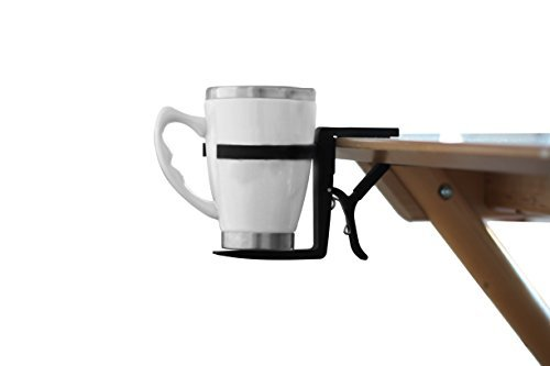 NEW! Cup Holder Desk Clip by HeroDesk - Universal, Portable, and foldable!