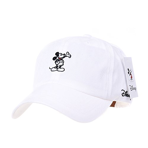 WITHMOONS Disney Mickey Mouse Embroidery Baseball Cap CR1283 (Disney Cap)
