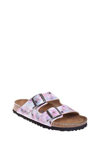 Birkenstock Unisex Arizona Pixel Rose Birko-flor Sandals - 7-7.5 2A(N) US Women