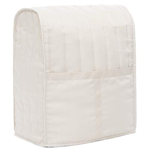 Homai Stand Mixer Cover with Heavyweight Cotton Quilted Fabric for Kitchenaid, Sunbeam, Cuisinart, Hamilton Mixer