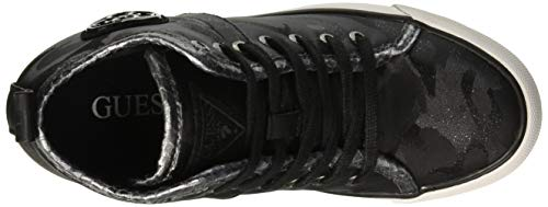 Hautes Baskets black Black Noir Femme Guess Jilly qCwvEE