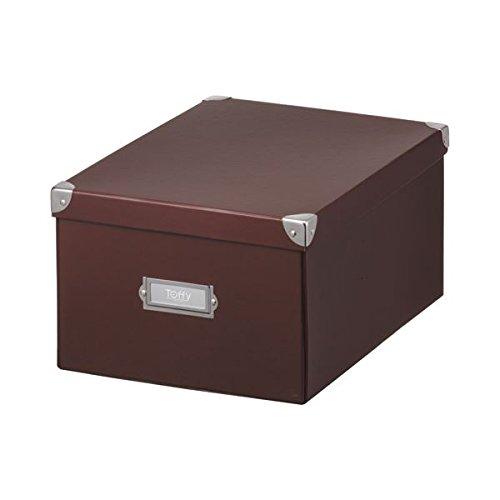 生活日用品 (まとめ買い) マジックボックス L ショコラブラウン TMX-002N-CBR 1個 【×5セット】 B074JVT39F