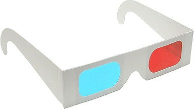 Anaglyph 3D Glasses Red/Cyan View 3D Print and Photos-Pack of 5