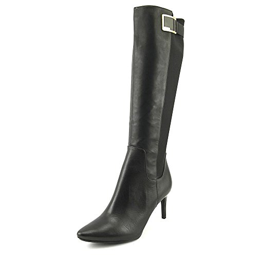 Calvin Klein Jaidia Wide Calf Women US 8.5 Black Knee High Boot by Calvin Klein