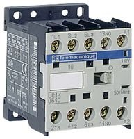 Schneider Electric - Lc1k0610b7 - Contactor, 3pst-no, 24vac, 15a, Din Rail