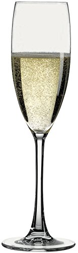 Hospitality Glass Brands 67076-024 Reserva 5.75 oz. Champagne Flute (Pack of 24) ()