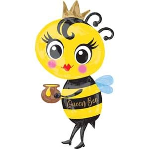 Anagram Queen Bee Super Shape Foil Balloon