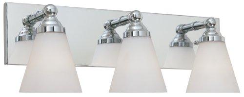 Designers Fountain 6493-CH 3 Light Bath Bar Chrome