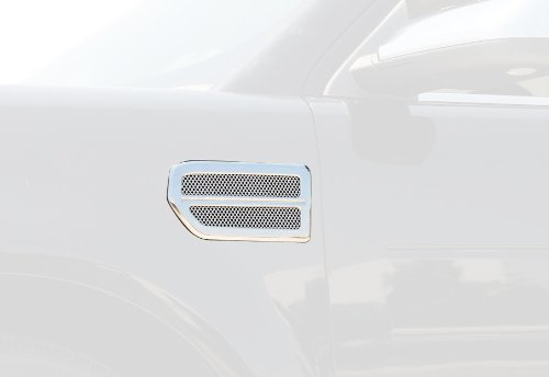 T-Rex 54524 Billet Chrome Plated Side Vent - 2 Piece
