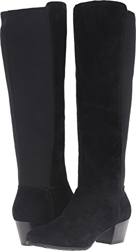 N Women's Pil-Anthropy Tall Shafted to The Knee Equestrian Boot, Black, 10 M US ()