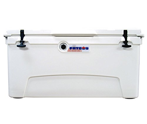 Fatboy 110QT Rotomolded Chest Ice Box Cooler White by Fatboy