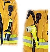 (Gear Keeper Firefighter Rescue Right-Angle Flashlight Retractor Lanyard Emergency Equipment Gear Authorized Dealer Full Warranty GSA Certified, RT3 4322)