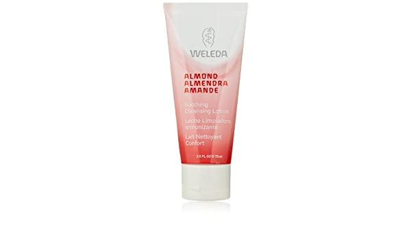 Amazon.com : Weleda Cleanser 2.5 Oz Almond Soothing Cleansing Lotion For Sensitive Skin For Women : Beauty