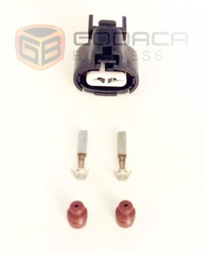 Connector 2-way 2 pin for IAT MAT Sensor 4AGE 1FZ-FE w/out wires: