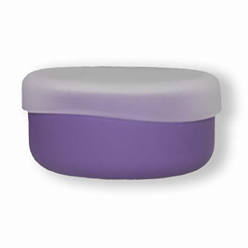 modern-twist 100% plastic free silicone waterproof, dishwasher safe, Snack Bowl, Lavender