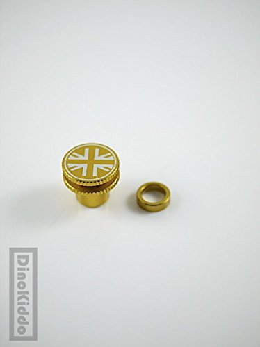 Union Gold Jack Screw Knob for Suspension or Seat Post Clamp for Brompton Folding Bike - Dino Kiddo by Dino Kiddo (Image #7)