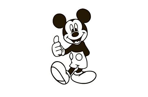 Mickey Mouse Vinyl Sticker Decals for Car Bumper Window MacBook pro Laptop iPad iPhone (4