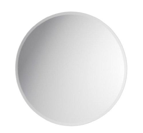 Darice V1633-96 Round Beveled Mirror, - Mirror 14 Round