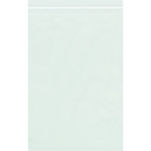 "Partners Brand PPB3879 Reclosable 6 mil Poly Bags, 8"" x 1..."