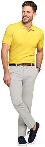 Lands' End Men's Short Sleeve Comfort-First Mesh Polo Shirt