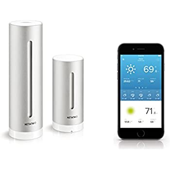 Netatmo Weather Station for Smartphone, Compatible with Amazon Alexa