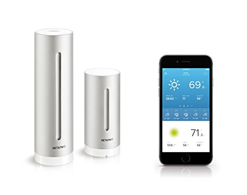 Price comparison product image Netatmo Weather Station for Smartphone, Compatible with Amazon Alexa