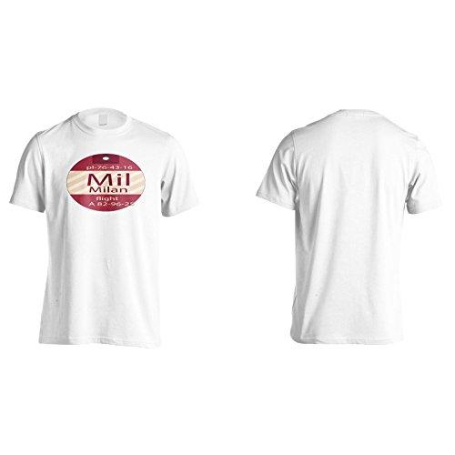 New Milan Italien Flug Herren T-Shirt m431m