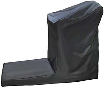 XQKXHZ Cubierta Protectora para Cinta De Correr, Funda Protectora Muebles Jardín Cubierta Exterior Rueda De Andar Protector Solar Resistente Al Desgaste Tela 210D Oxford,Negro,206x94x170cm: Amazon.es: Hogar