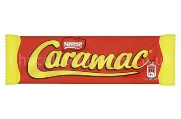 Caramac Bar (box of 48) by Nestle