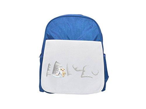 Avatar Wardrobe Shirt Xmas Yeti Sweater printed kid's blue backpack, Cute backpacks, cute small backpacks, cute black backpack, cool black backpack, fashion backpacks, large fashion backpacks, black (Yeti Christmas Sweater)