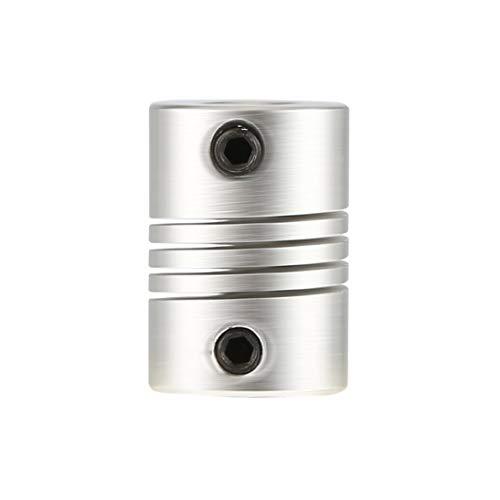 Baynne Hot 6x6mm CNC Motor Jaw Shaft Coupler 6mm to 6mm Flexible Coupling OD 16x23mm Top Sale ()
