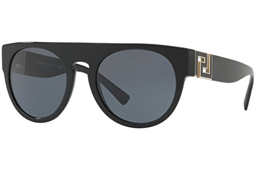 Versace  Mens Ve4333 Black Grey Sunglasses