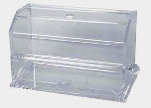 JapanBargain 2872 Plastic Clear Acrylic Straw Dispenser