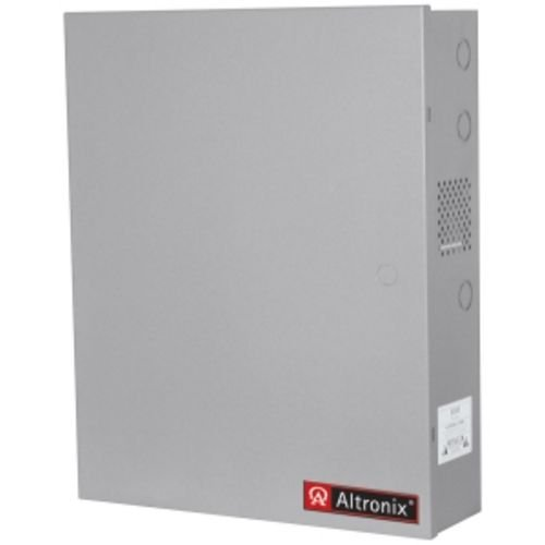 ALTRONIX AL1024ULACMJ 10 AMP 24 VDC POWER SUPPLY IN LARGE ENCLOSURE