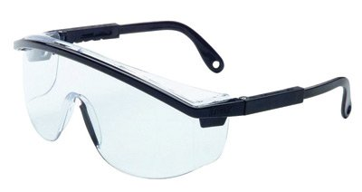 318412d7cc20 Image Unavailable. Image not available for. Color  Uvex By Honeywell Astrospec  3000 Safety Glasses With Black ...